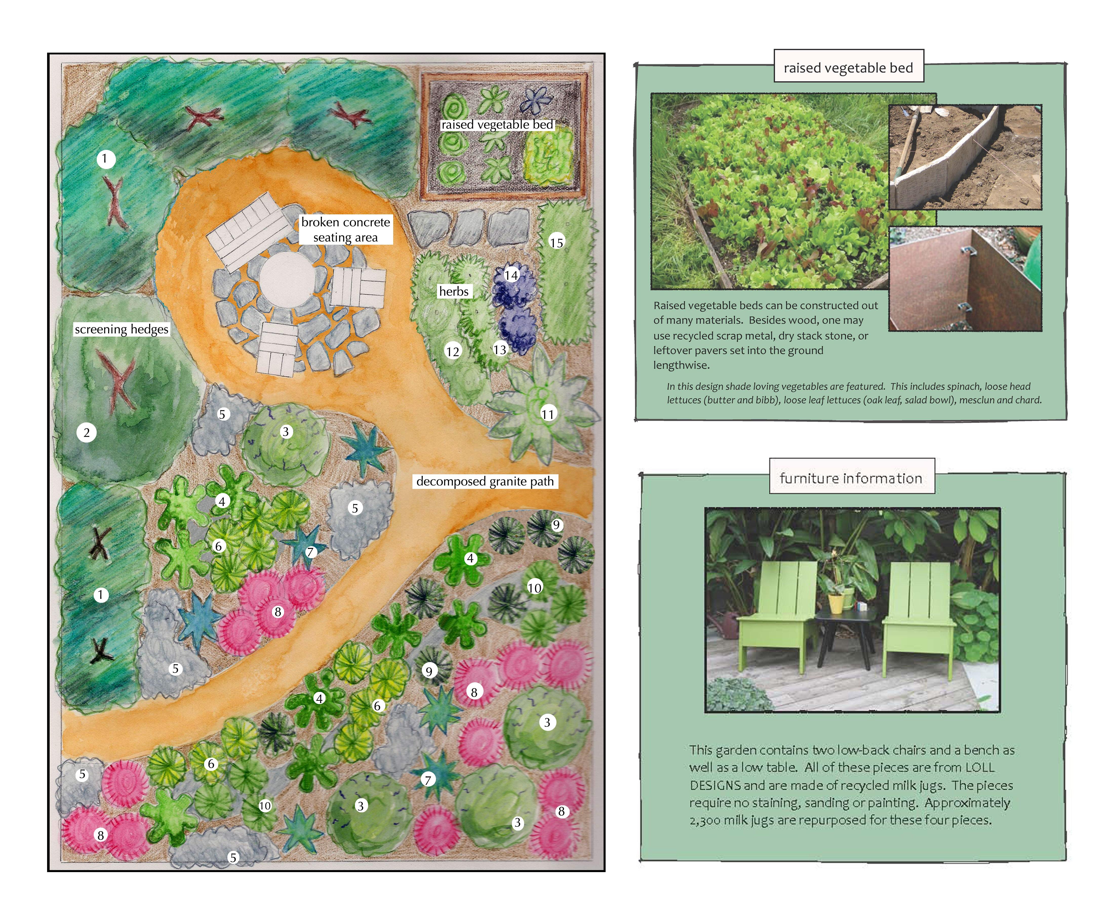 Satori Garden Design Entry for Garden #3